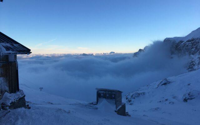 vue vers Gstaad